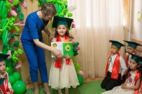 Вручение сертификатов выпускникам нулевого класса